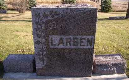 LARSEN, FAMILY - Moody County, South Dakota | FAMILY LARSEN - South Dakota Gravestone Photos