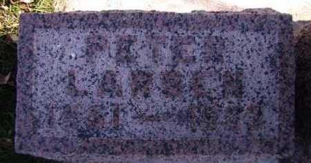 LARSEN, PETER - Moody County, South Dakota | PETER LARSEN - South Dakota Gravestone Photos