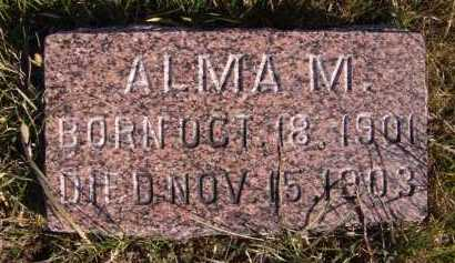LARSON, ALMA M - Moody County, South Dakota | ALMA M LARSON - South Dakota Gravestone Photos