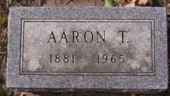 LARSON, AARON T - Moody County, South Dakota | AARON T LARSON - South Dakota Gravestone Photos