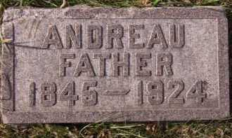 LARSON, ANDREAU - Moody County, South Dakota | ANDREAU LARSON - South Dakota Gravestone Photos