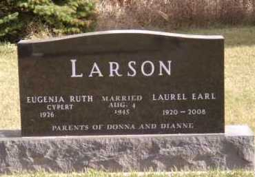 CYPERT LARSON, EUGENIA RUTH - Moody County, South Dakota | EUGENIA RUTH CYPERT LARSON - South Dakota Gravestone Photos