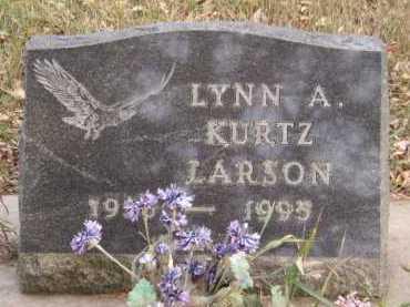 LARSON, LYNN A - Moody County, South Dakota | LYNN A LARSON - South Dakota Gravestone Photos