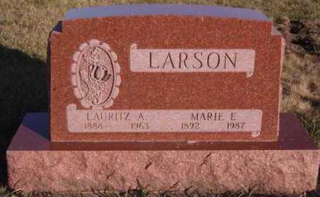 LARSON, MARIE E - Moody County, South Dakota | MARIE E LARSON - South Dakota Gravestone Photos