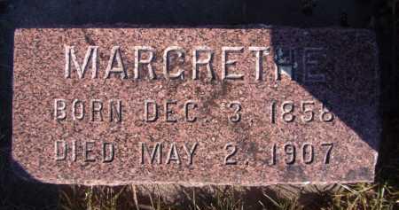 LARSON, MARCRETHE - Moody County, South Dakota | MARCRETHE LARSON - South Dakota Gravestone Photos