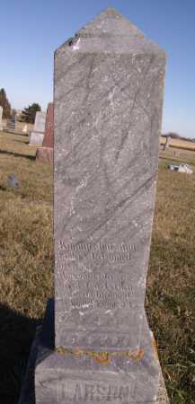 LARSON, MAGGE E - Moody County, South Dakota | MAGGE E LARSON - South Dakota Gravestone Photos