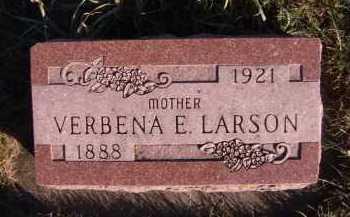 LARSON, VERBENA E - Moody County, South Dakota | VERBENA E LARSON - South Dakota Gravestone Photos