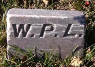 LARSON, WILBUR P (FOOTSTONE) - Moody County, South Dakota | WILBUR P (FOOTSTONE) LARSON - South Dakota Gravestone Photos