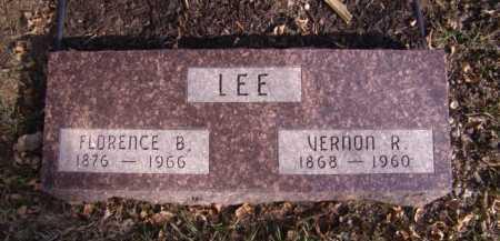 LEE, FLORENCE B - Moody County, South Dakota   FLORENCE B LEE - South Dakota Gravestone Photos