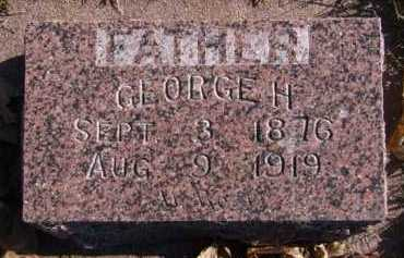 LESTER, GEORGE H - Moody County, South Dakota | GEORGE H LESTER - South Dakota Gravestone Photos
