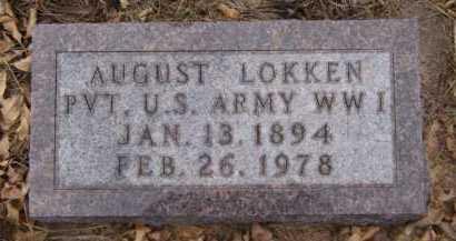 LOKKEN, AUGUST - Moody County, South Dakota | AUGUST LOKKEN - South Dakota Gravestone Photos