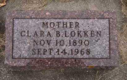 ODEGAARD LOKKEN, CLARA B - Moody County, South Dakota | CLARA B ODEGAARD LOKKEN - South Dakota Gravestone Photos