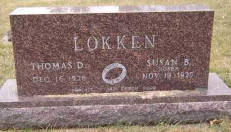 LOKKEN, THOMAS D - Moody County, South Dakota | THOMAS D LOKKEN - South Dakota Gravestone Photos