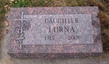 LORENTSON, LORNA - Moody County, South Dakota | LORNA LORENTSON - South Dakota Gravestone Photos