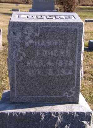 LOUCKS, HARRY C - Moody County, South Dakota | HARRY C LOUCKS - South Dakota Gravestone Photos