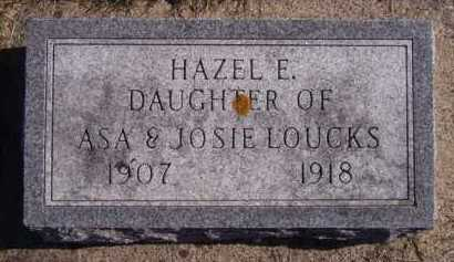LOUCKS, HAZEL E - Moody County, South Dakota | HAZEL E LOUCKS - South Dakota Gravestone Photos