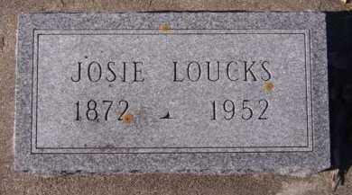 LOUCKS, JOSIE - Moody County, South Dakota | JOSIE LOUCKS - South Dakota Gravestone Photos