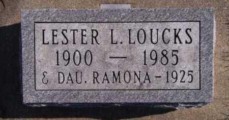 LOUCKS, RAMONA - Moody County, South Dakota | RAMONA LOUCKS - South Dakota Gravestone Photos