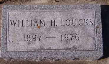 LOUCKS, WILLIAM H - Moody County, South Dakota   WILLIAM H LOUCKS - South Dakota Gravestone Photos