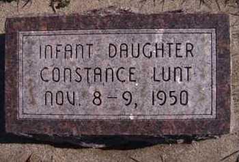 LUNT, CONSTANCE - Moody County, South Dakota | CONSTANCE LUNT - South Dakota Gravestone Photos