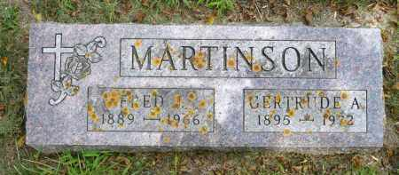 MARTINSON, FRED JAMES - Moody County, South Dakota | FRED JAMES MARTINSON - South Dakota Gravestone Photos