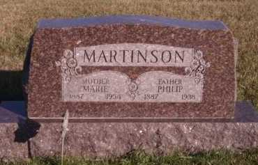 MARTINSON, PHILIP - Moody County, South Dakota | PHILIP MARTINSON - South Dakota Gravestone Photos
