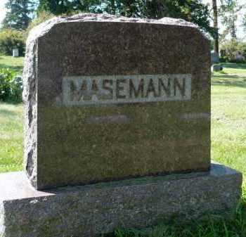 MASEMANN, FAMILY MARKER - Moody County, South Dakota | FAMILY MARKER MASEMANN - South Dakota Gravestone Photos