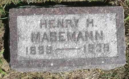 MASEMANN, HENRY H. - Moody County, South Dakota | HENRY H. MASEMANN - South Dakota Gravestone Photos