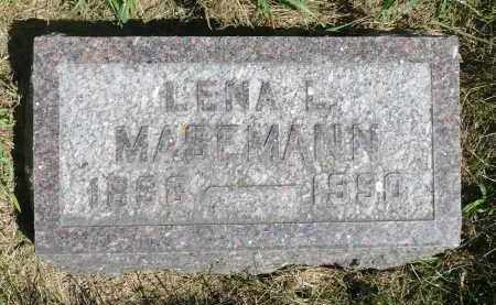 SCHARNHORST MASEMANN, LENA L. - Moody County, South Dakota | LENA L. SCHARNHORST MASEMANN - South Dakota Gravestone Photos