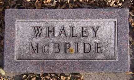 MCBRIDE, WHALEY - Moody County, South Dakota | WHALEY MCBRIDE - South Dakota Gravestone Photos