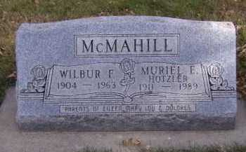 MCMAHILL, WILBUR F - Moody County, South Dakota | WILBUR F MCMAHILL - South Dakota Gravestone Photos