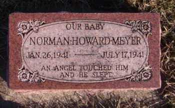 MEYER, NORMAN HOWARD - Moody County, South Dakota | NORMAN HOWARD MEYER - South Dakota Gravestone Photos