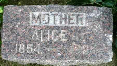MILLARD, ALICE J. - Moody County, South Dakota   ALICE J. MILLARD - South Dakota Gravestone Photos