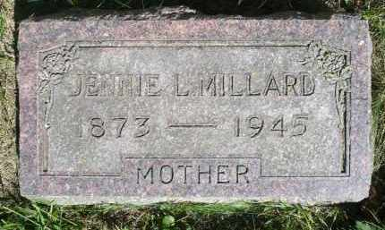 MILLARD, JENNIE L. - Moody County, South Dakota | JENNIE L. MILLARD - South Dakota Gravestone Photos