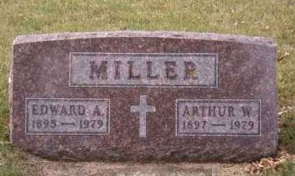 MILLER, EDWARD A - Moody County, South Dakota | EDWARD A MILLER - South Dakota Gravestone Photos