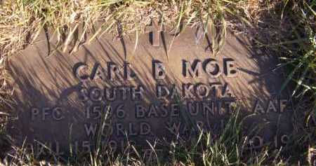 MOE, CARL B - Moody County, South Dakota | CARL B MOE - South Dakota Gravestone Photos