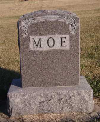 MOE, FAMILY - Moody County, South Dakota | FAMILY MOE - South Dakota Gravestone Photos