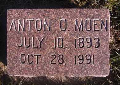 MOEN, ANTON O - Moody County, South Dakota | ANTON O MOEN - South Dakota Gravestone Photos