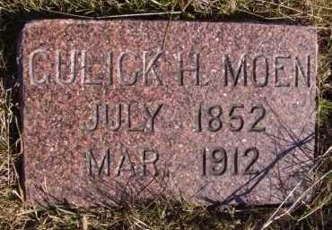 MOEN, CULICK H - Moody County, South Dakota   CULICK H MOEN - South Dakota Gravestone Photos