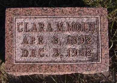 MOEN, CLARA M - Moody County, South Dakota | CLARA M MOEN - South Dakota Gravestone Photos