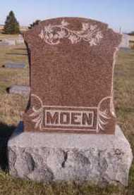 MOEN, FAMILY - Moody County, South Dakota | FAMILY MOEN - South Dakota Gravestone Photos