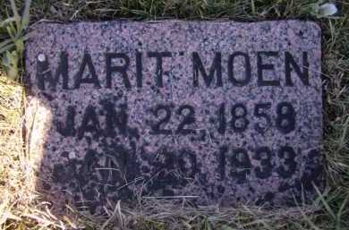 MOEN, MARIT - Moody County, South Dakota | MARIT MOEN - South Dakota Gravestone Photos