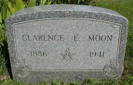 MOON, CLARENCE EDWARD - Moody County, South Dakota   CLARENCE EDWARD MOON - South Dakota Gravestone Photos