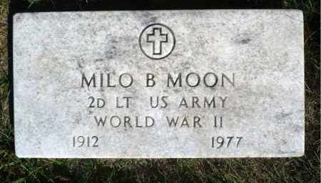 MOON, MILO BRUCE (WWII) - Moody County, South Dakota | MILO BRUCE (WWII) MOON - South Dakota Gravestone Photos