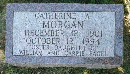 MORGAN, CATHERINE A. - Moody County, South Dakota   CATHERINE A. MORGAN - South Dakota Gravestone Photos