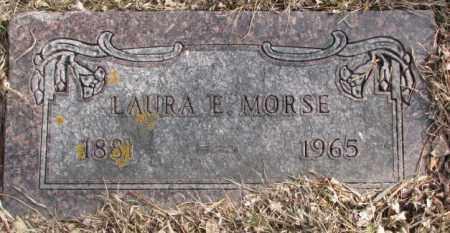 MORSE, LAURA E. - Moody County, South Dakota   LAURA E. MORSE - South Dakota Gravestone Photos