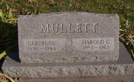 MULLETT, HAROLD C - Moody County, South Dakota | HAROLD C MULLETT - South Dakota Gravestone Photos