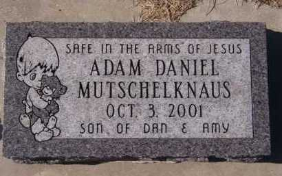 MUTSCHELKNAUS, ADAM DANIEL - Moody County, South Dakota | ADAM DANIEL MUTSCHELKNAUS - South Dakota Gravestone Photos