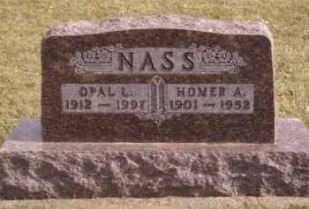 NASS, OPAL L - Moody County, South Dakota | OPAL L NASS - South Dakota Gravestone Photos