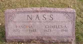 NASS, CHARLES A - Moody County, South Dakota | CHARLES A NASS - South Dakota Gravestone Photos